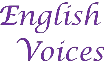 English Voices Transparent Logo